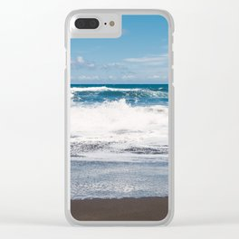 Rocking ocean Clear iPhone Case