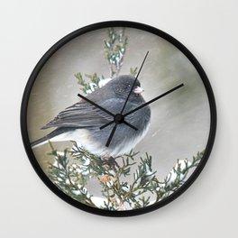 Tip Top Junco Wall Clock