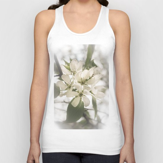 Apple blossoms Unisex Tank Top