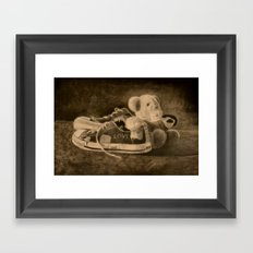 How the Years Go By Framed Art Print