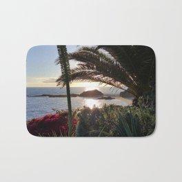 TREASURE ISLAND SUNSET Bath Mat