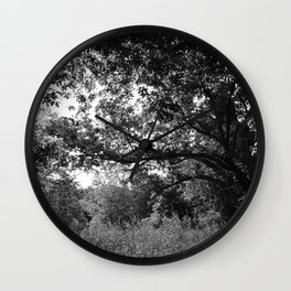 Ozark Forest Wall Clock