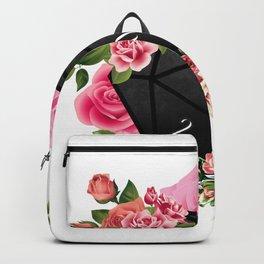 Floral Rose D20 Dice Backpack