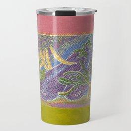 Pointillist Veggie Garden Travel Mug