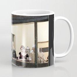 mad men characters are Hopper's Nighthawks Coffee Mug