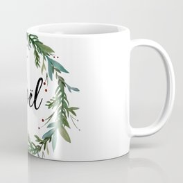 Noel Wreath Coffee Mug