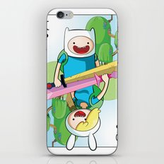 Adventure Time: Finn & Fionna iPhone & iPod Skin