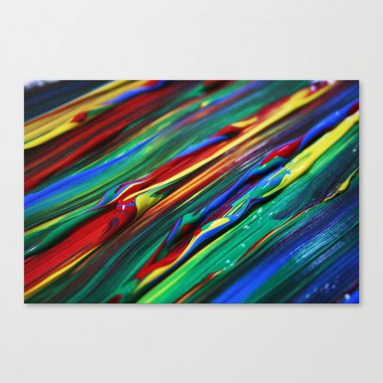 Paint Canvas Print
