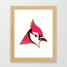 Pink Hawk Framed Art Print