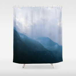 Foggy Hights Shower Curtain