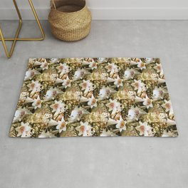 Lily's of Love.... Rug