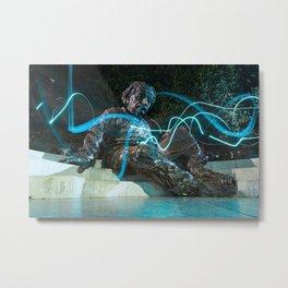 Einstein Memorial Metal Print