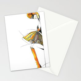 """""""The mystery of the orange hat""""  Stationery Cards"""