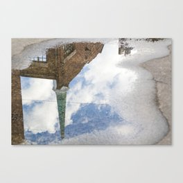 Rain Reflections Canvas Print