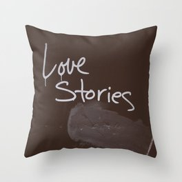 LOVE STORIES! Throw Pillow