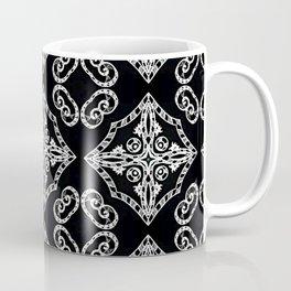 Victorian Gothic Holiday Wallpaper Coffee Mug