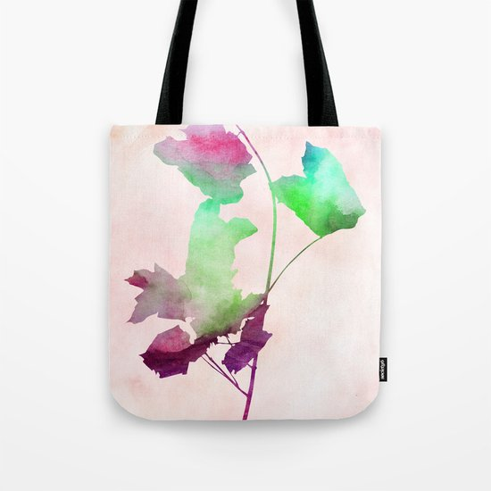 Maple_Watercolor2 by Jacqueline and Garima Tote Bag