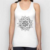 henna Tank Tops featuring Henna Mandala by Ava Elise