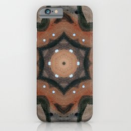 Bushfire Gum Medallion 1 iPhone Case