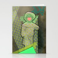 cyclops Stationery Cards featuring Cyclops by Naomi Vona