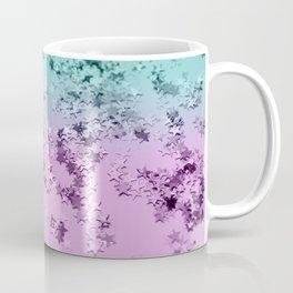 Mermaid Lady Glitter Stars #3 #decor #art #society6 Coffee Mug