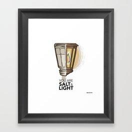 #2 Salt and Light Framed Art Print