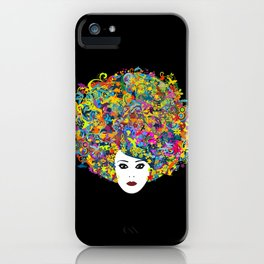 Great Hair Day iPhone Case