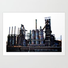 Bethlehem Steel Blast Furnace 2 Art Print