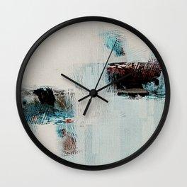 Japan Waves Wall Clock
