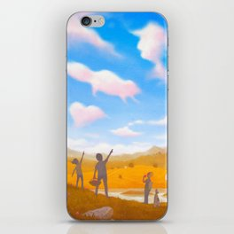 Cloud Spotting iPhone Skin