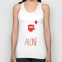 alone Tank Tops featuring Alone by MuicRoom