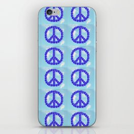 Peace for everyone iPhone Skin