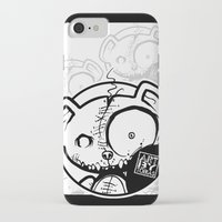 infamous iPhone & iPod Cases featuring Infamous Bear Logo by TobiasGebhardt