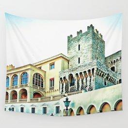 Prince's Palace Monaco Wall Tapestry