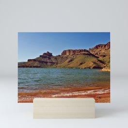 The Shore of Apache Lake Arizona Mini Art Print