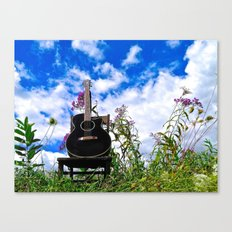 Playing the Field Canvas Print