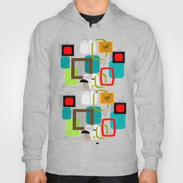 Mid-Century Modern Inspired Abstract Hoody