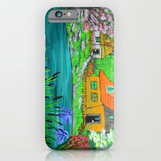 Cottages by the lake  iPhone 6s Slim Case