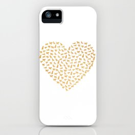Cats Lover Heart iPhone Case