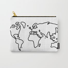 world globe Carry-All Pouch