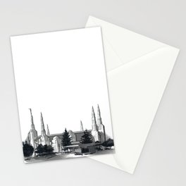 Portland Oregon Temple Stationery Cards