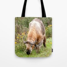 The Endangered Takin Tote Bag