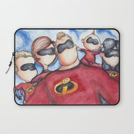 Family Portrait --- The Incredibles Laptop Sleeve