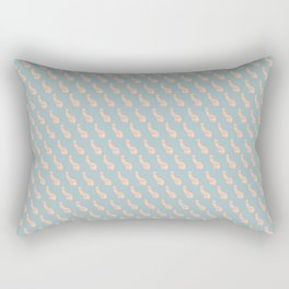 Practically Perfect - Penis in Blue Rectangular Pillow