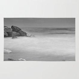 White rock Rug