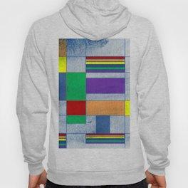 Mid-Century Modern Art - Rainbow Pride 1.0 Hoody