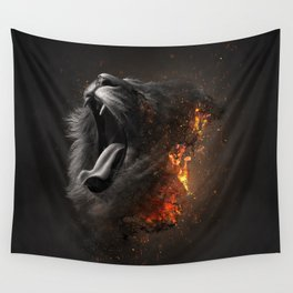 XTINCT x Lion Wall Tapestry