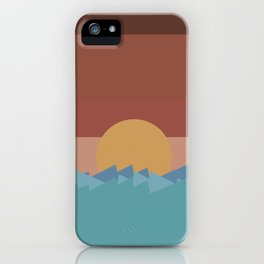SUNSET 2 iPhone Case