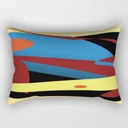 Abstract Story Rectangular Pillow
