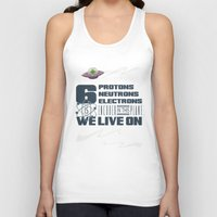 transistor Tank Tops featuring 311 - Galaxy by gatebasher_311